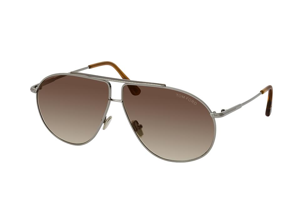 tom ford -  Riley FT 0825 14G, Aviator Sonnenbrille, Herren