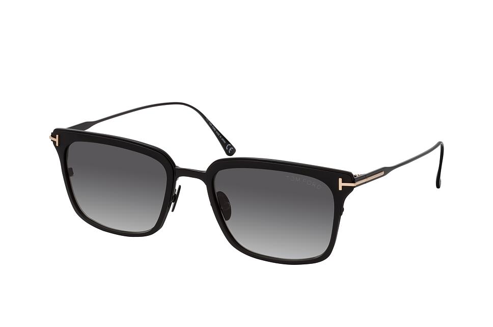 tom ford -  Hayden FT 0831 02B, Quadratische Sonnenbrille, Herren, in Sehstärke erhältlich