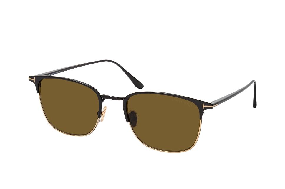 tom ford -  Liv FT 0851 01J, Quadratische Sonnenbrille, Herren, in Sehstärke erhältlich