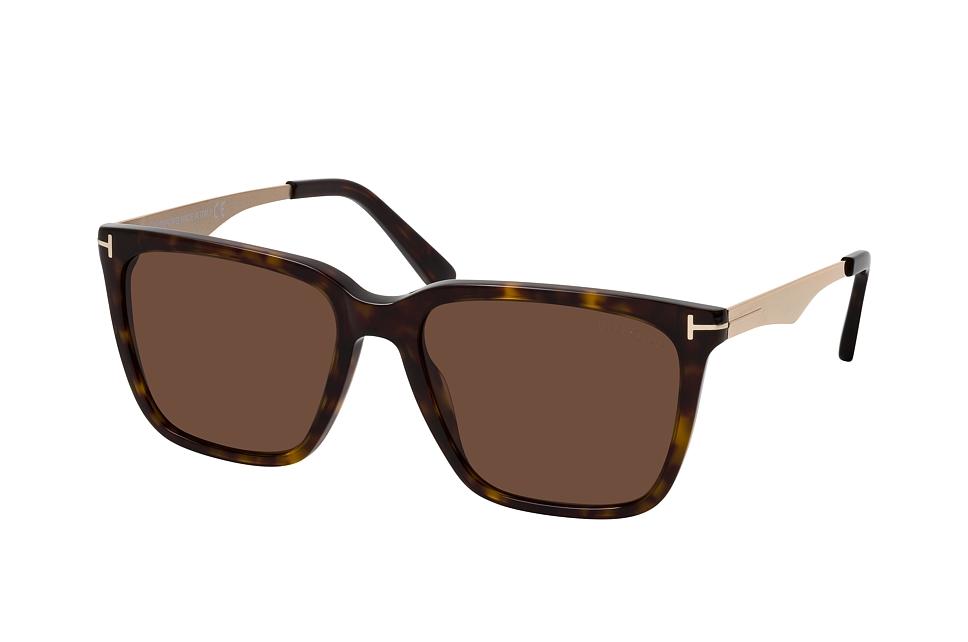 tom ford -  Garrett FT 0862 52E, Quadratische Sonnenbrille, Herren, in Sehstärke erhältlich
