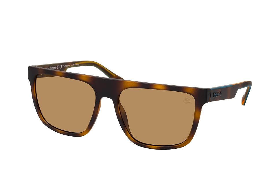 timberland -  TB 9253 52H, Quadratische Sonnenbrille, Herren, polarisiert, in Sehstärke erhältlich