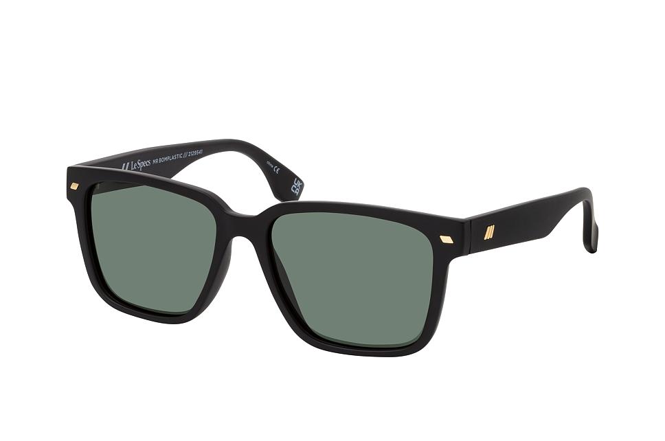 le specs -  MR BOMPLASTIC LSU2129541, Quadratische Sonnenbrille, Herren, polarisiert