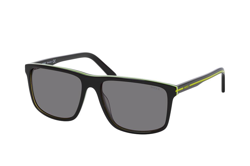 mexx -  6499 100, Quadratische Sonnenbrille, Herren, in Sehstärke erhältlich
