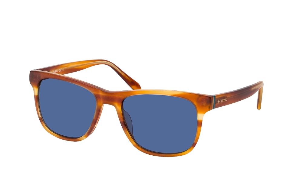 fossil -  FOS 2112/S BAS, Quadratische Sonnenbrille, Herren, in Sehstärke erhältlich
