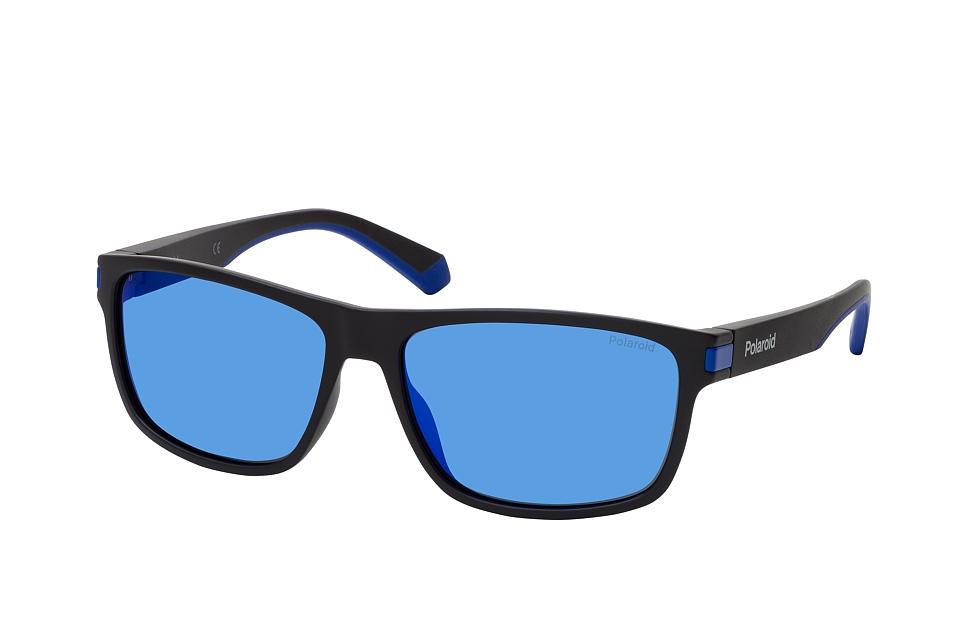 polaroid -  PLD 2121/S 0VK, Rechteckige Sonnenbrille, Herren, polarisiert, in Sehstärke erhältlich