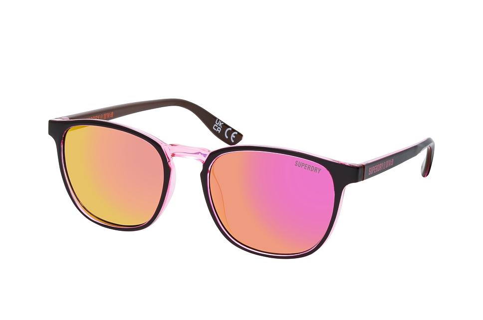 superdry -  SDS VINTAGENEON 116, Quadratische Sonnenbrille, Damen, in Sehstärke erhältlich