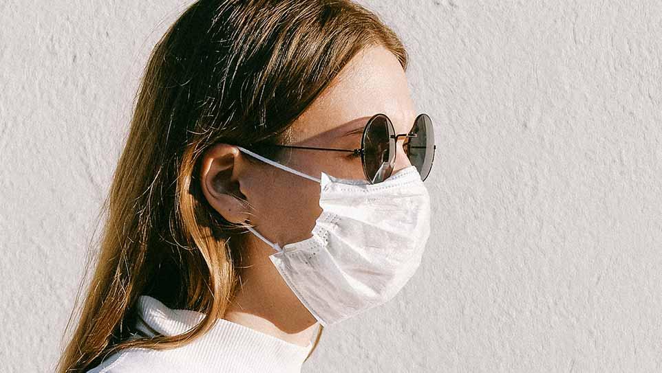 Masque et lunettes