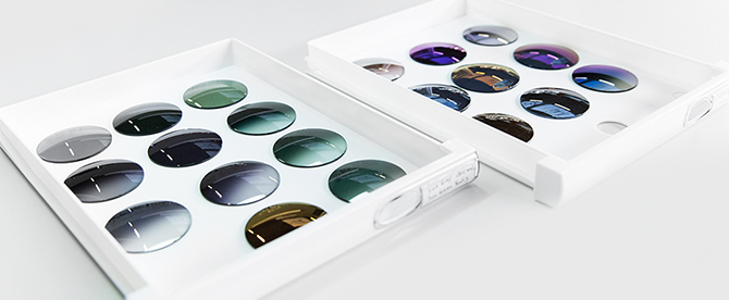 Sunglasses lenses