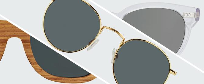ac3a25ee15 Sunglasses frame materials