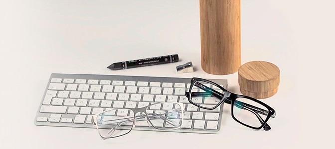 glasögon för datorn