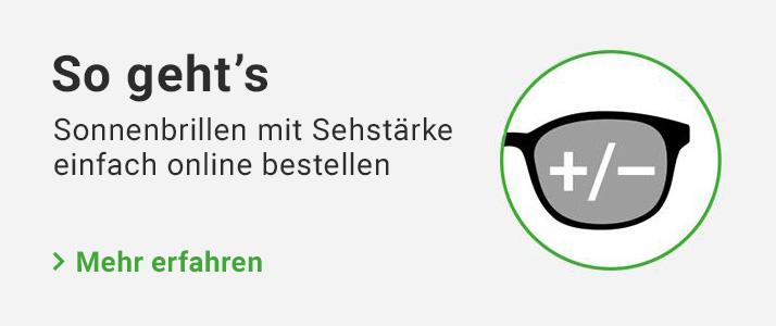 ray ban sonnenbrille mit stärke logo