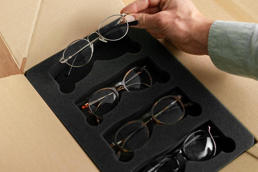 Prova glasögon hemma - kostnadsfritt  219d3cf41420c