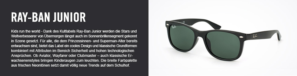 Ray-Ban Junior bei Mister Spex