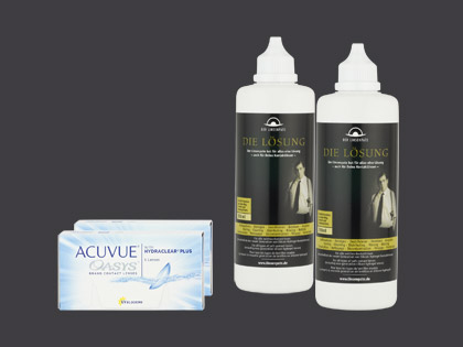 ACUVUE OASYS with HYDRACLEAR Plus + 2 x Die Lösung