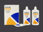 Ecco All-in-One 2x 360ml1x Kontaktlinsenbehälter