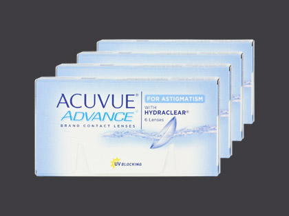 Acuvue Advance for Astigmatism 2-Wochenlinsen