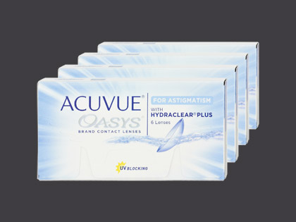 Acuvue Oasys for Astigmatism 4er Pack